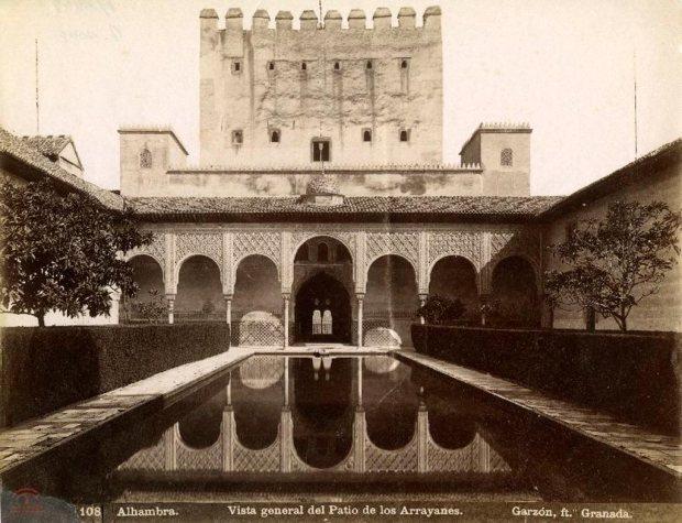 Patio de los arrayanes, La Alhambra